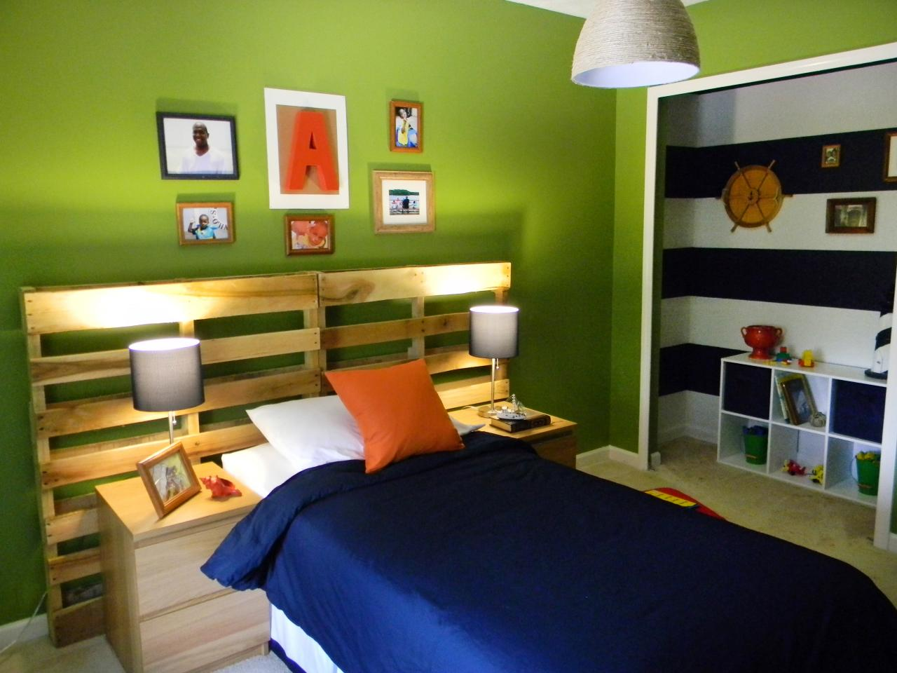Hang Your Headboard ! Home Decor