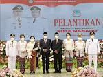 Dilantik Gubernur Olly, AA-RS Resmi Pimpin Kota Manado