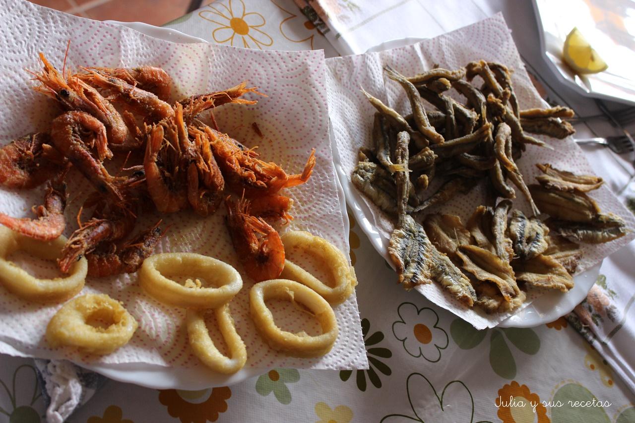 pescado frito mixto