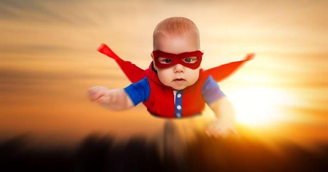10 Kekuatan Super yang  Dimiliki Bayi ini Jarang Diketahui Orang Tuanya