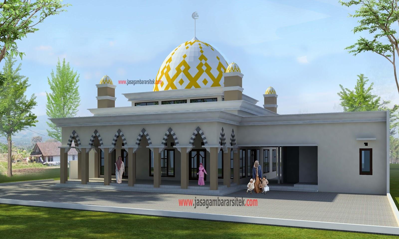Masjid Minimalis Palembang