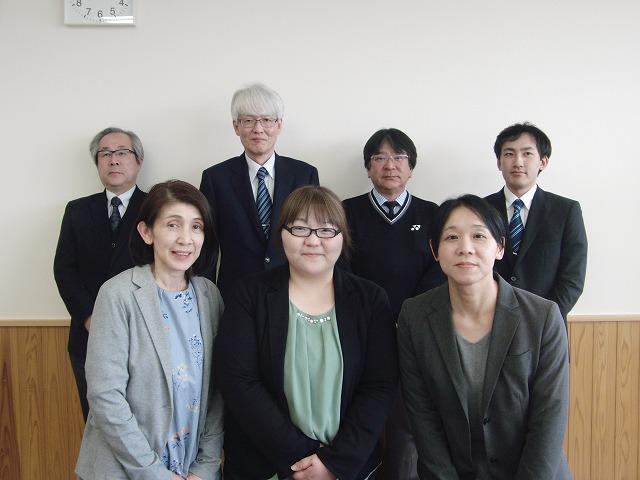 米沢市立第四中学校 学校ブログ: 新任者7名