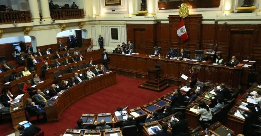 Congreso de la República otorgó voto de confianza al Gabinete Ministerial
