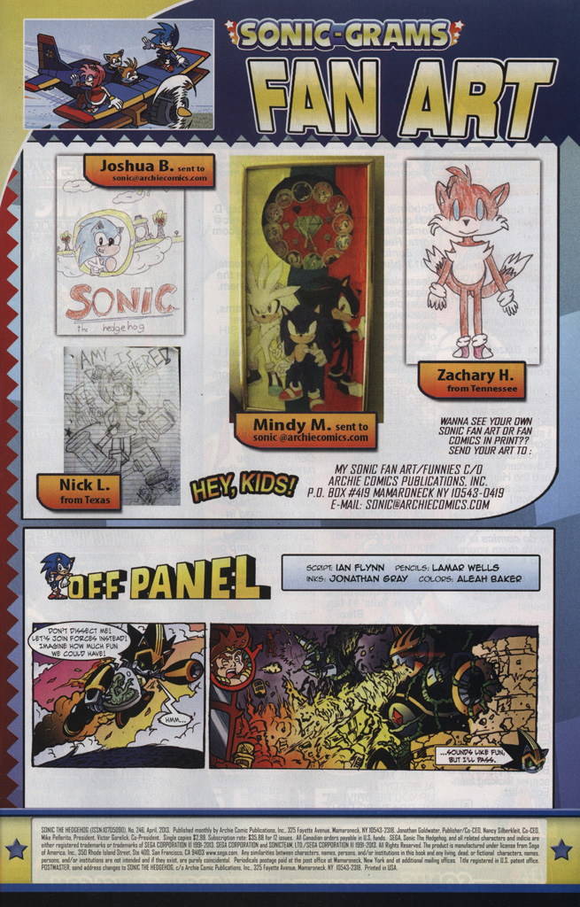 Read online Sonic The Hedgehog comic -  Issue #246 - 33