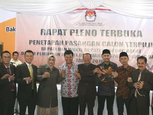 Bupati Baru Kabupaten Bandung Barat