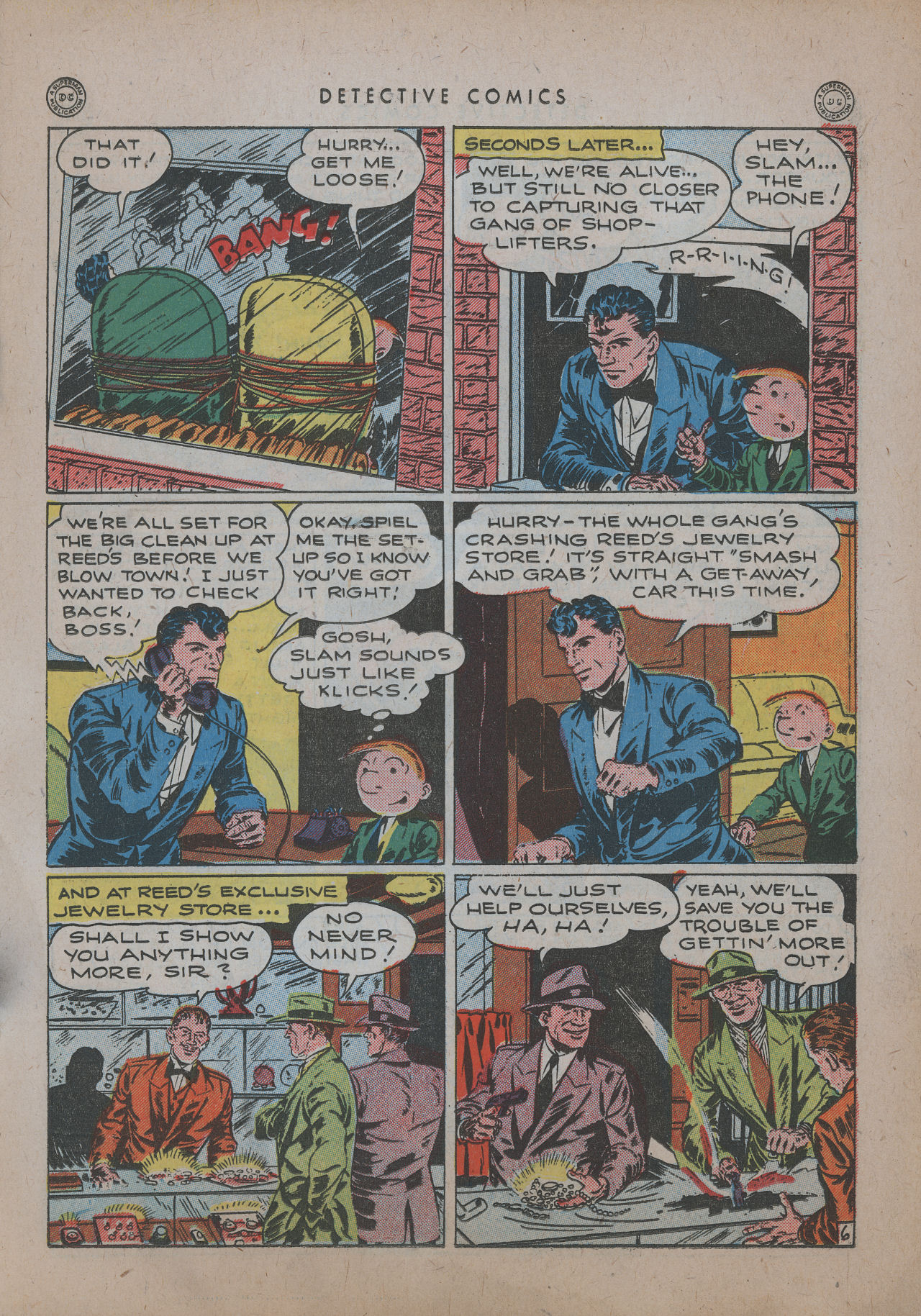Read online Detective Comics (1937) comic -  Issue #101 - 21