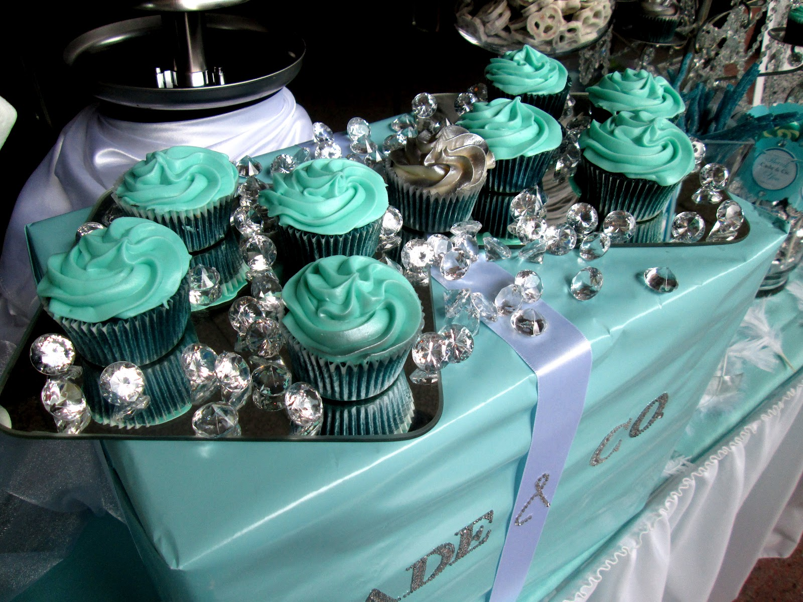 Tiffany Co Themed Wedding