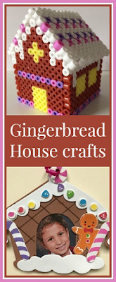 A gingerbread house crafts round up