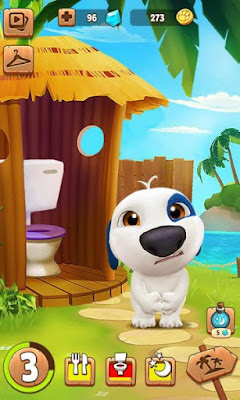 Download game android mod My Talking Hank apk
