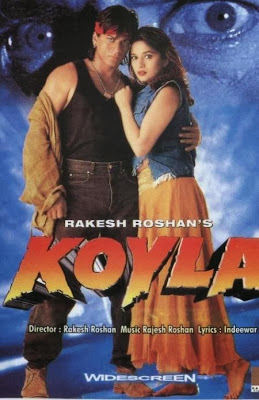 Poster Of Bollywood Movie Koyla (1997) 300MB Compressed Small Size Pc Movie Free Download worldfree4u.com