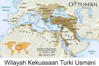 wilayah kekuasaan turki usmani