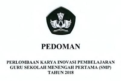 PEDOMAN LOMBA INOBEL GURU SMP TAHUN 2018