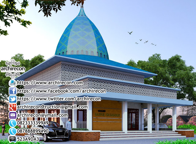 Desain Masjid Antisipatif - Antisipasi Lantai