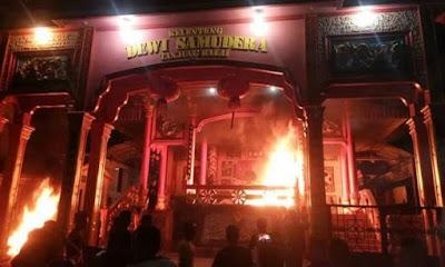 Vihara yang Dibakar Massa Di Tanjungbalai