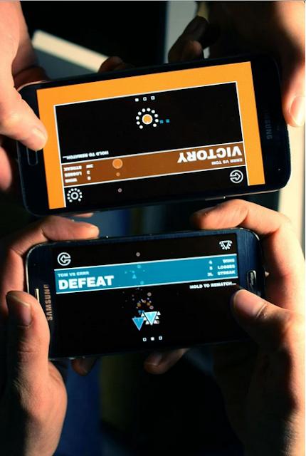 إلعب مع أصدقائك لعبة DUAL للاندرويد عبر الواي فاي أو البلوثوث بالمجان