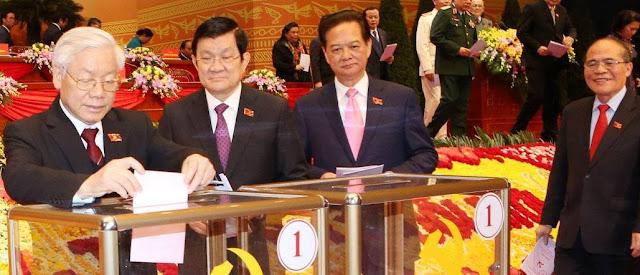Nguyễn Phú Trọng thắng lớn trong cuộc bầu cử ban chấp hành trung ương