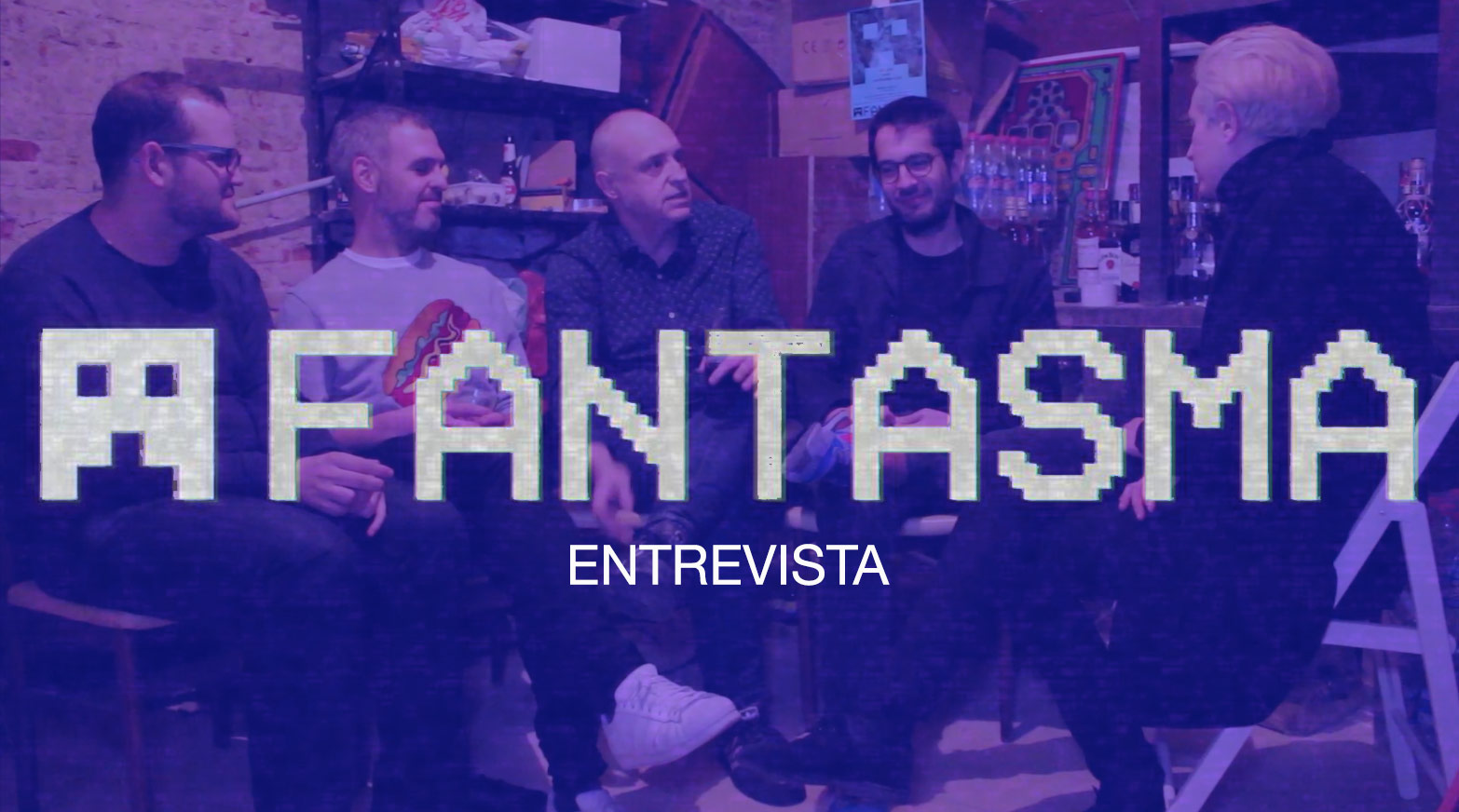 Fiestas Fantasma - entrevista channel video one
