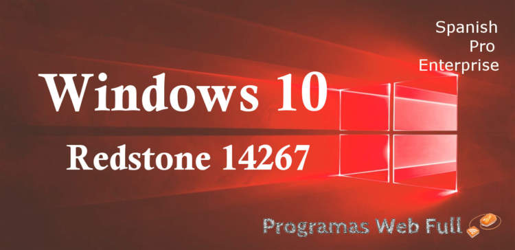 Windows 10 Redstone Español 14267