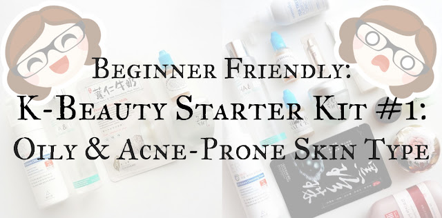 Korean skincare for oily acne skin on Amazon