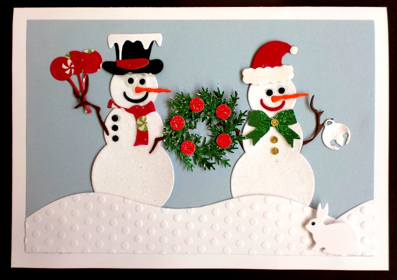 Charmingly Creative: Snow People Greeting - photo#25
