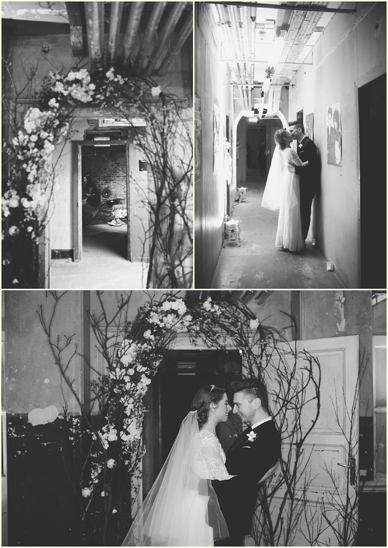 Shoreditch Town Hall: Alternative Wedding Photography Derby UK