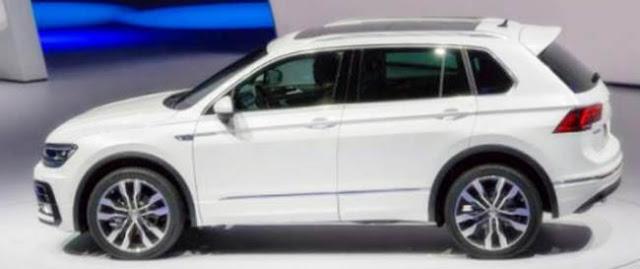 2018 Volkswagen Tiguan Redesign