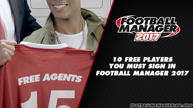 Football Manager 2017 Free Agents