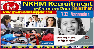 NRHM Recruitment 2018 Apply 733 Medical Officer, Lab Technician Posts