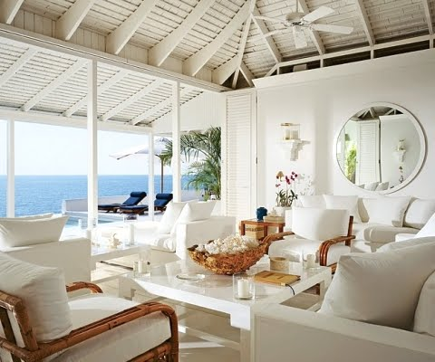 Ralph Lauren Home -Chic Seaside in Blue and White - Coastal Decor ...