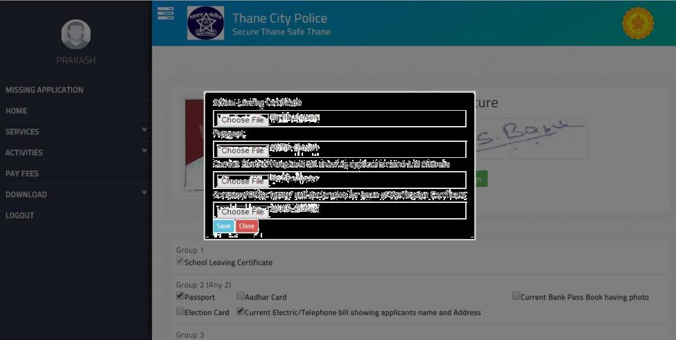 Charitra Praman Patra Character Certificate Online