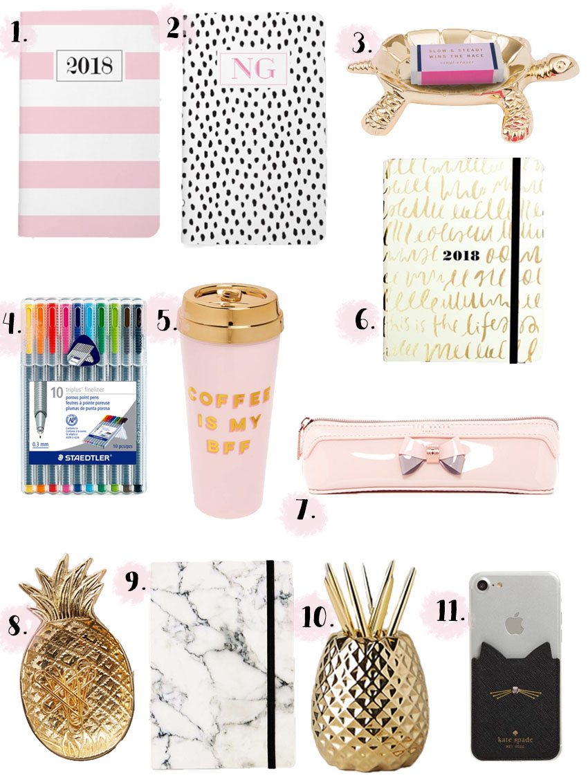 cute-back-to-school-supplies-office-supplies-cute-agendas-best-colorful-pens
