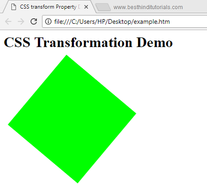 CSS-transform-property-example-in-Hindi