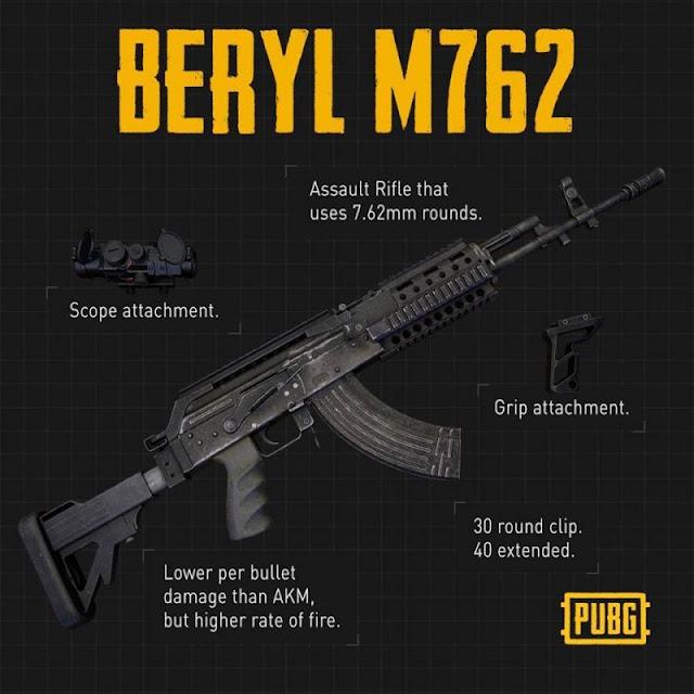 PUBG Mobile'da hangi silah daha iyidir: AKM veya M762?
