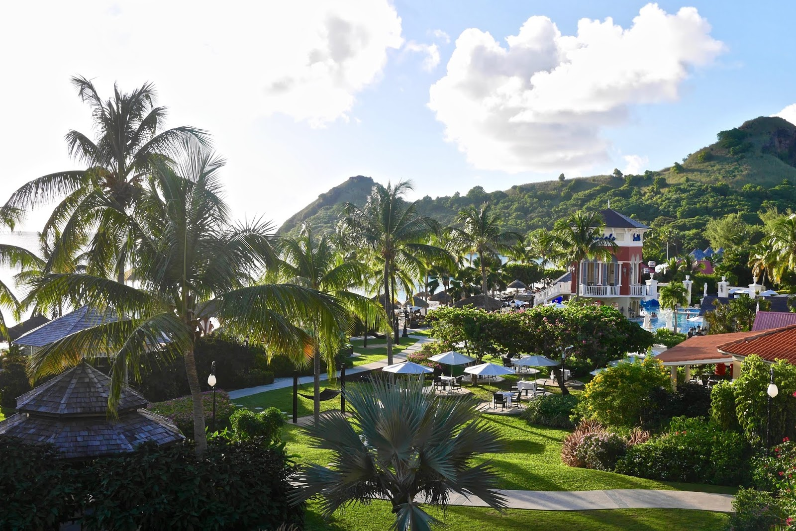 Hotel Grounds at Sandals Grande St Lucia, Sandals Grande St Lucia Review