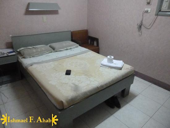 Bedbug infested bed in Pacific Tourist Inn - Cebu Hotel