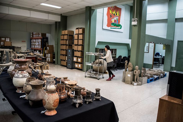 Costa Rica 'more complete' after recovering 200 artefacts from Venezuela