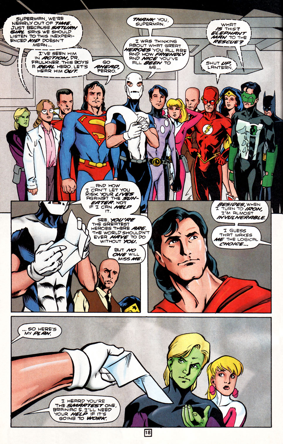 Legion of Super-Heroes (1989) 86 Page 18