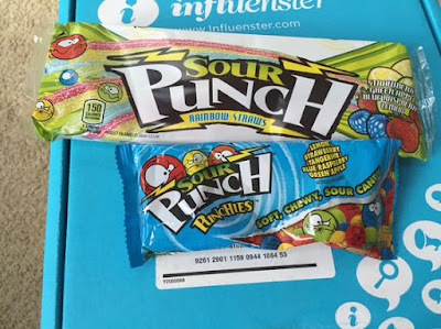 influenster campus voxbox review sour punch candy