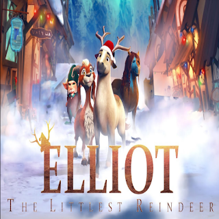 Download Film Elliot The Littlest Reindeer (2019) Bluray Subtitle Indonesia
