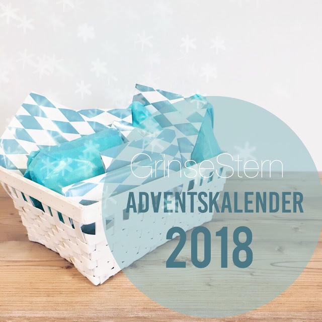 grinsestern, adventkalender, adventskalender, stoffladen, stoffshop, grinsesternkalender, Advent Advent,