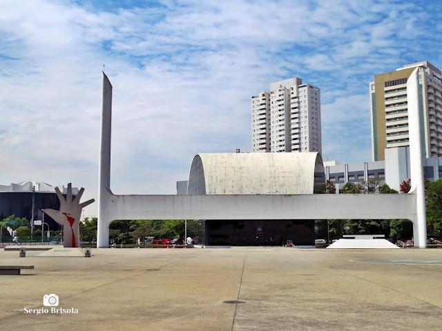 Vista ampla do Salão de Atos - Memorial da América Latina - São Paulo