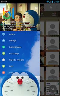 BBM Whatsapp Doraemon 3D V3.0.1.25 Apk Terbaru