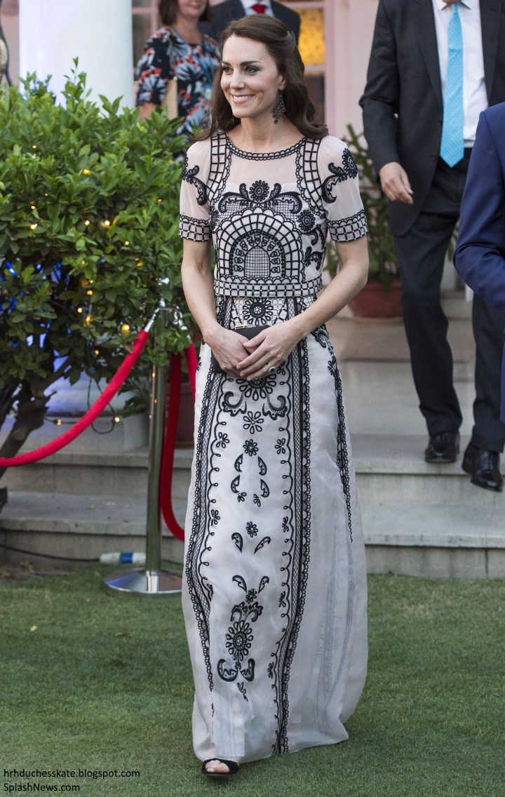 c89a7fc8fb ... in a crop top and maxi skirt by Alice Temperley for the evening. I love  this look; it was entirely different, fresh and perfect for the garden  party ...