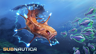Subnautica PS4 Background
