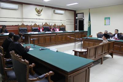 Tanggapi Eksepsi, Jaksa KPK Anggap Pengadilan Tipikor Berwenang Adili Mas'ud Yunus