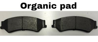 Kampas rem organik