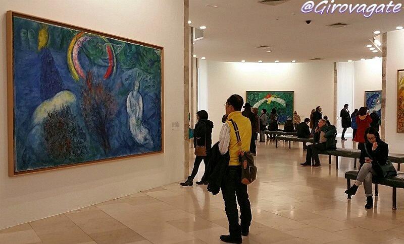 Nizza museo Chagall