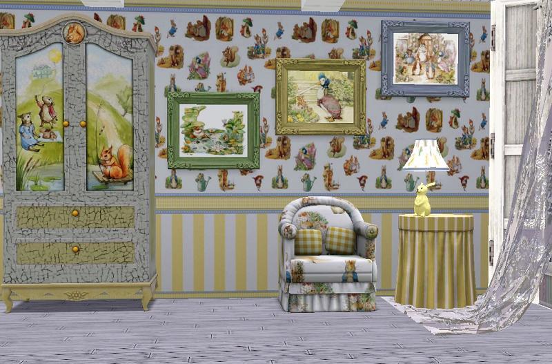 Nursery Wallpaper Set