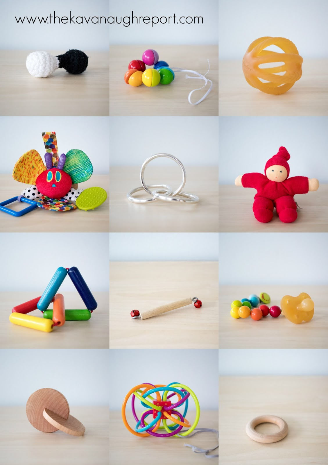 Montessori Friendly Baby Toys At 4 Months