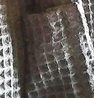 LRKC 100% Cotton Unisex Long Waffle Weave Bathrobe
